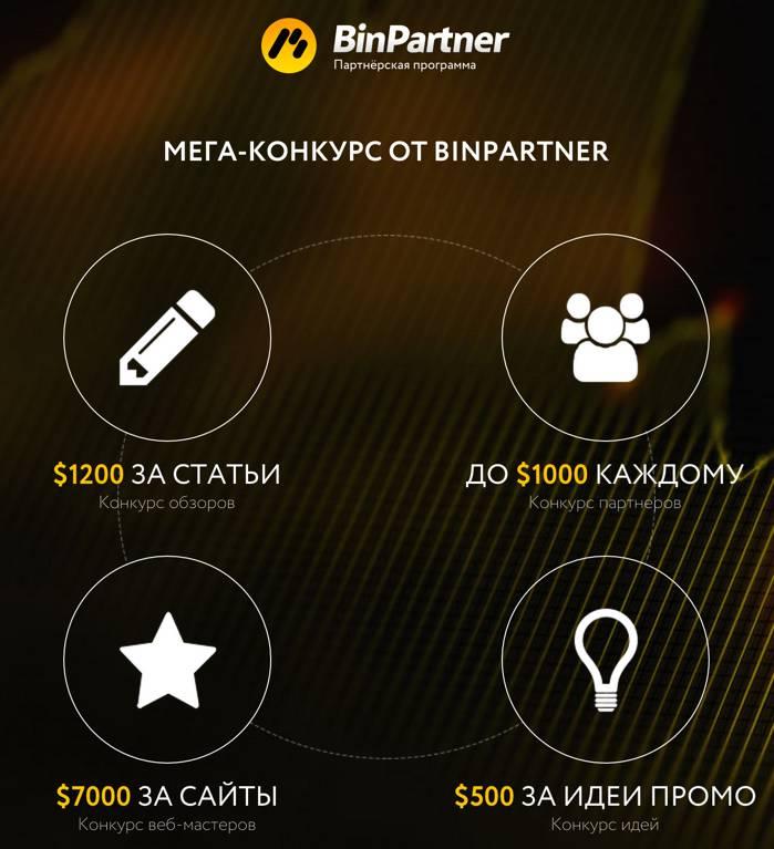 Мега-конкурс от binpartner.com