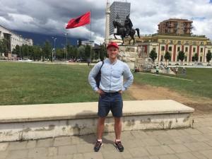 Тирана. Столица Албании. Центр