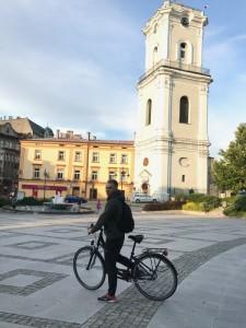 Перемышль, прогулка на велосипедах. Викенд в Польше.