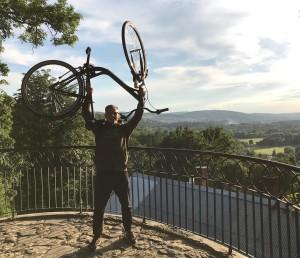 Поездка на велосипедах. Пжемышль, Польша, форт