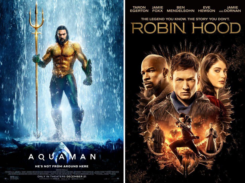 Аквамен и Робин Гуд - отзывы о фильмах. Ходил, смотрел