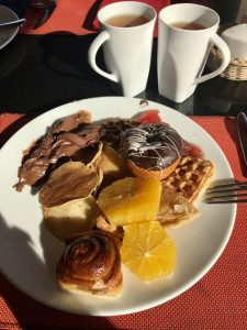Завтраки в ресторане Xperience Sea Breeze Египет шарм эль шейх