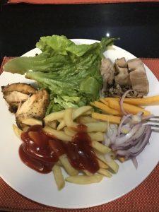 Еда в ресторане Xperience Sea Breeze