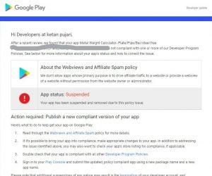 Как решить webview policy на google play market